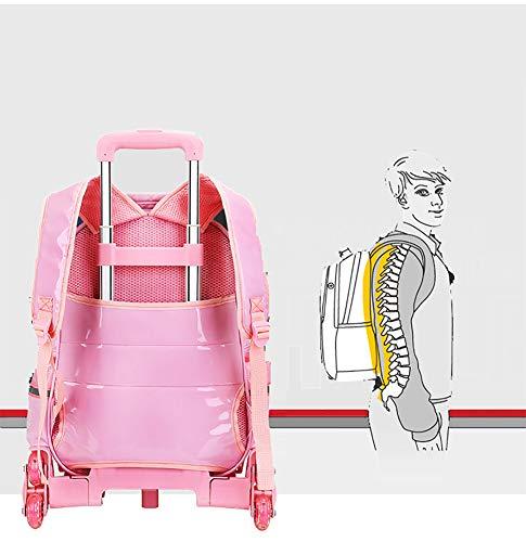 11b8954f6d8e Meetbelify Rolling Backpacks For Girls School Bags Trolley - Import ...