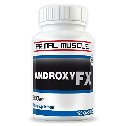 AndroxyFX Strongest Testosterone Supplement Muscle product image
