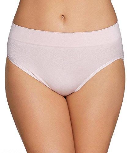 High Panty Cut Spandex Brief (Vanity Fair Women's No Pinch-No Show Seamless Hi Cut Panty 13171, Sheer Quartz Lace, 2X-Large/9)