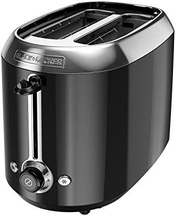 Black+Decker TR1300BD Toaster, Small