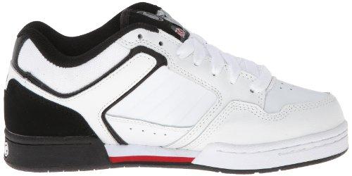 Zapatillas De Skate Dvs Transom Blancas / Negras De Cuero