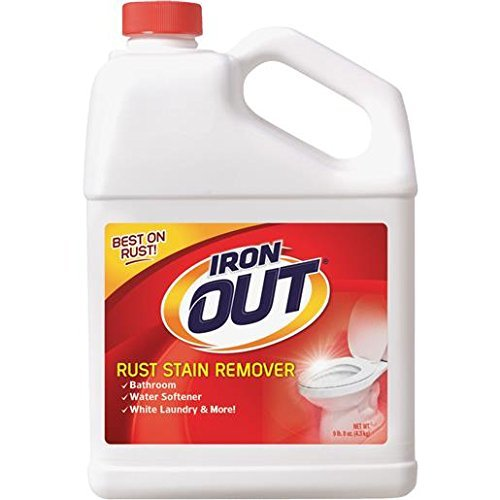 Super Iron Out IO10N Rust Stain Remover-9.5 Pound-Multi Purpose Rust Stain Remover for Toilets, White Laundry, Sinks, Tubs, Tile, and - Out Iron It