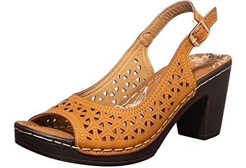 Khadims Women's Sharon Heeled Sandal