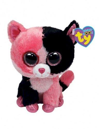 Amazon.com  Ty Beanie Boos Dazzle - Cat (Justice Exclusive)  Toys ... f245843130b
