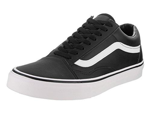 121b47a84e272a Galleon - Vans Unisex Old Skool (Classic Tumble) Blk TrWht Skate Shoe 9.5  Men US   11 Women US