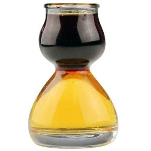 Quaffer Double-Bubble Shot Glass, Glass (Case of 36) by QUAFFER