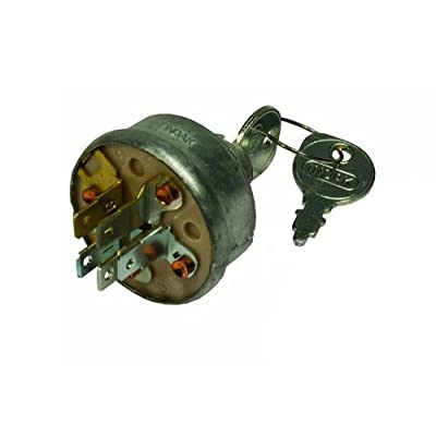 Ignition KEY Switch Sears MTD Craftsman John Deere Toro Riding Lawn Mower STD365402 24688 725-0267 925-0267 21064 421064: Automotive