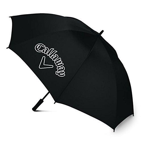 Callaway CG Logo 60 SGL Man Open Umbrella, Black, ()