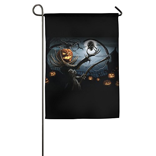 [Scary Halloween Trick Or Treat Jack Lanterns Decorative Home Garden Banner] (National Costume Of All Countries)