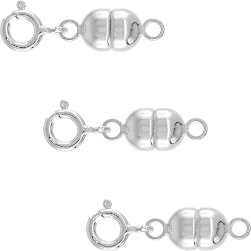 Sterling Silver Magnetic Converter Necklaces