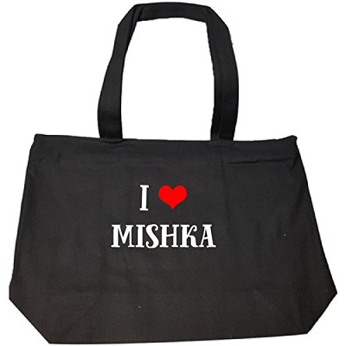 I Love Mishka Cool Gift - Tote Bag With Zip
