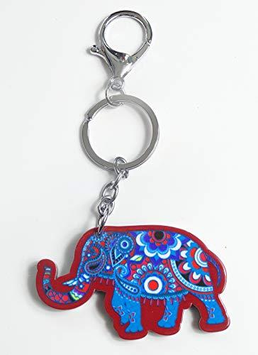 kenta artesanias Llavero Elefante de la Suerte trompa Arriba ...