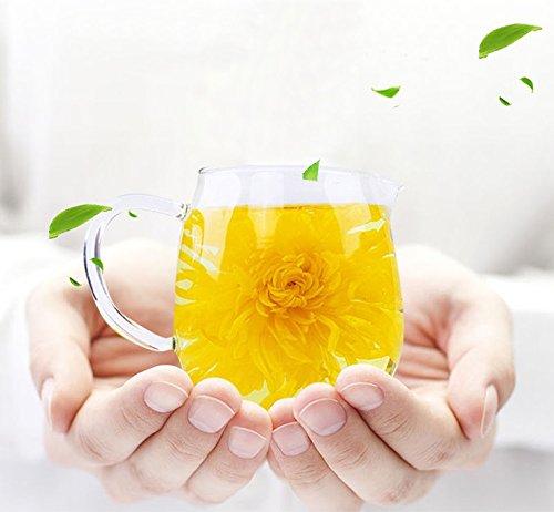 Chinese Organic Dried Flower Tea, Loose Leaf Herbal Tea (Chrysanthemum tea) Chinese Chrysanthemum Tea