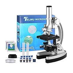 TELMU Microscope for Students 300X-600X-...