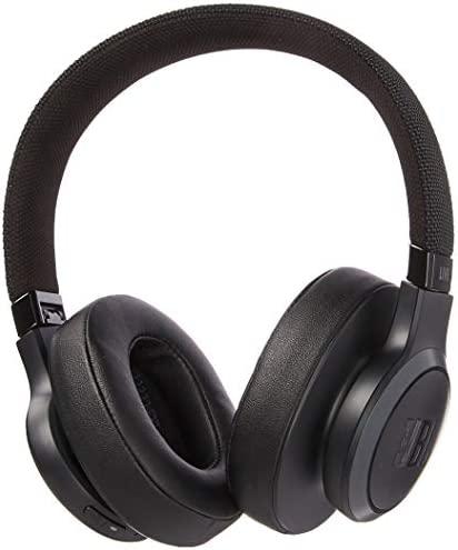 JBL LIVE 500BT Over-the-Ear Headphones - Black - JBLLIVE500BTBLKAM (Renewed)
