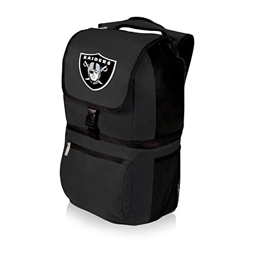Insulated Cooler Backpack Oakland Raiders