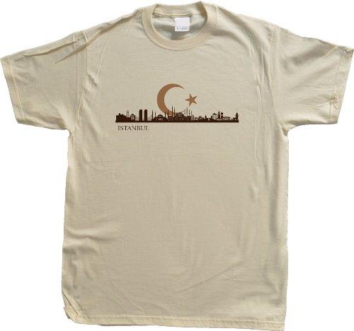 Istanbul, Turkey City Skyline Unisex T-shirt Turkish Constantinople Pride Tee