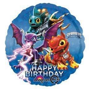1 BALLOON new SKYLANDERS giants HBD PARTY FAVORS new VHTF by anagram [Toys & Games]