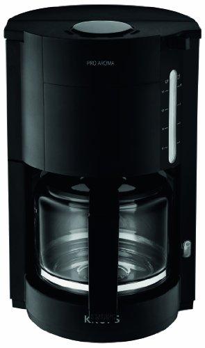 Krups-F30908-Krups-ProAroma-Glas-Kaffeemaschine-10-Tassen-1050-W-im-modernen-Design-schwarz