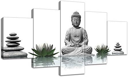 Urttiiyy 5 Pcs Buddha