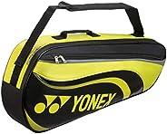 Yonex Active Series 3 Racquet Bag (Black/Lime)
