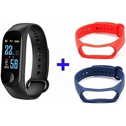 DMMDHR Fitness Bracelet Blood Pressure Outdoor IPS Screen Oxygen Heart Rate Monitor Smart Bracelet Waterproof Wristbands Tracker Estimated Price £28.60 -