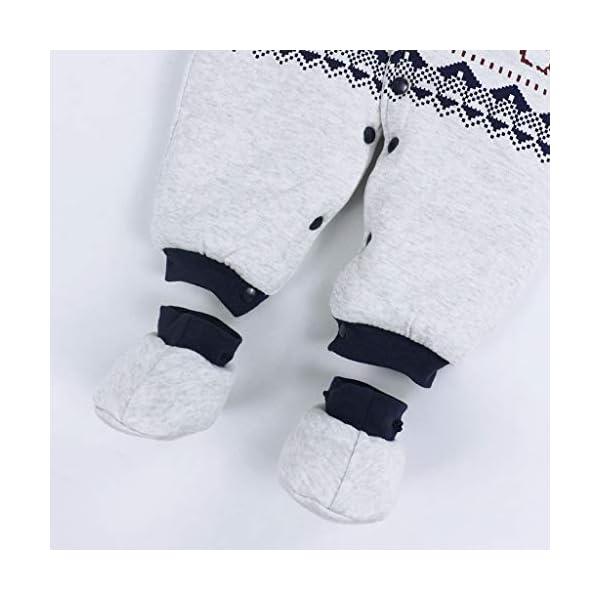 Bambino Ragazze Ragazzi pagliaccetto Neonato addensare Snowsuit Autunno inverno infantile tute attrezzatura 6 mesi Vine 7