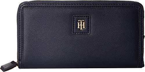 Tommy Hilfiger Women's Julia Large Zip Wallet Tommy Navy One Size