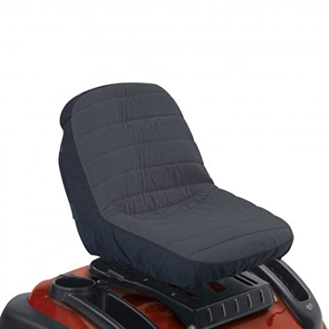 Classic Accessories 12314 Small Deluxe Tractor Seat Cover, Black