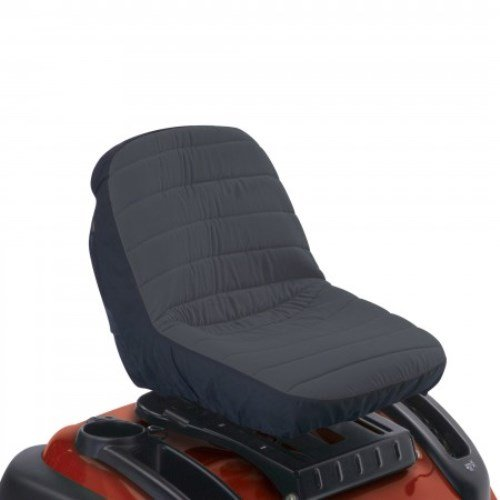 Classic Accessories Deluxe Riding Lawn Mower Seat Cover, ()