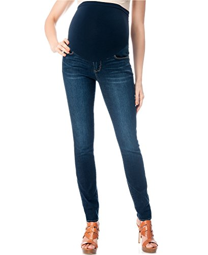 Belly Envy Sexy Petite Dark Denim Maternity Jeans