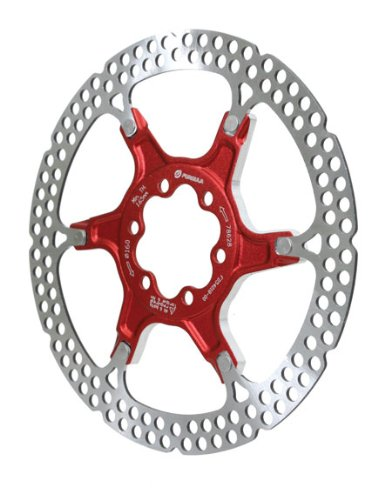 Formula Rotor - Formula Disc Rotor Alloy 160mm 6 bolt Red