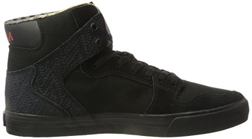 Hombre Altas Black Black Negro 08203 Supra Zapatillas Ev7tn