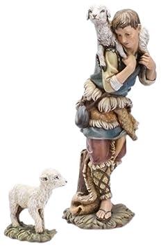 Joseph s Studio 27 Scale Shepherd and Lamb Figure
