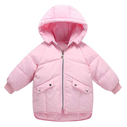 75549bc0ad0c Jual Happy Cherry Unisex Kids Down Jacket Hooded Zipper Up Winter ...
