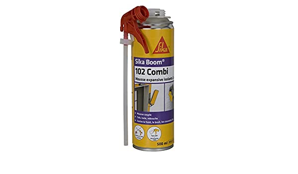 Espuma polyuréthanne expansiva - Sika Boom 102 Combi - 500 ml ...