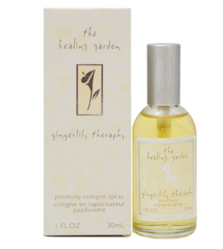 Healing Garden Gingerlily Therapy by Coty Positivity Cologne Spray for Women, 1 Ounce