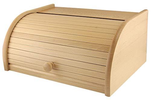Apollo Beech Wood Bread Bin Roll -
