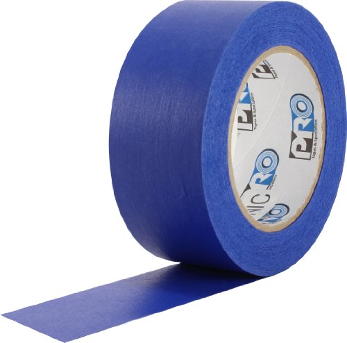 "ProTapes Pro Scenic 714 Crepe Paper 14 Day Easy Release Painters Masking Tape, 60 yds Length x 3"" Width, Blue (Pack of 1)"