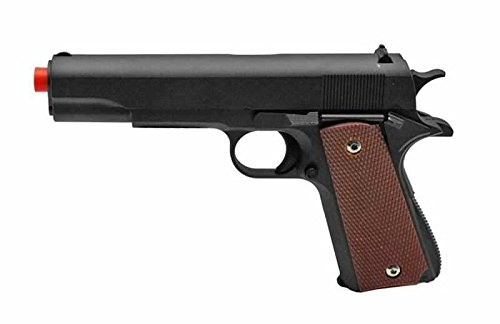 M1911 Replica Demolition Airsoft Spring Pistol (Jacketed Handgun Bullets)