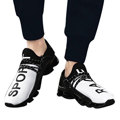 Fitness all'Aperto SmrBeauty Corsa Casual Scarpe Trekking Bianco Traspirante da Scarpe da Sportive Scarpe Interior da Uomini Ginnastica Sneakers Corsa Running Basket vFqvawr