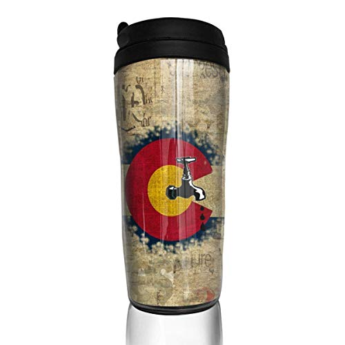 AUUOCC Colorado Craft Beer Crafty Stylish Insulated Traveler Coffee Mug Tumbler Stainless Steel Coffee Cup 12 Oz