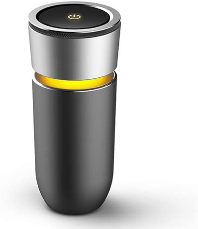 RSGK Purificador De Aire del Coche, Elimina El Polvo, Humo del Cigarrillo, Malos Olores, Anión De Liberación - Disponible para Automóvil Y Habitación Pequeña: Amazon.es: Jardín