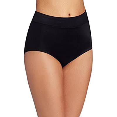 Warner's Women's No Pinching No Problems Hi Cut Brief Panty