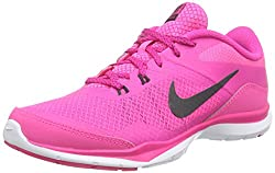 Nike Womens Flex Trainer 5 Running Shoe, Pink Powanthracitepink Foilwhite - 10 B(m) Us
