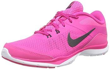 Nike Womens Flex Trainer 5 Running Shoe, Pink Powanthracitepink Foilwhite - 10 B(m) Us 0