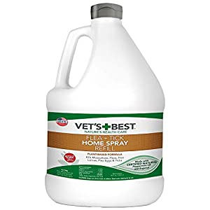 Vet's Best Flea and Tick Home Spray | Flea Treatment for Dogs and Home | Flea Killer with Certified Natural Oils
