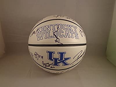 Kentucky UK Wildcats 2015-2016 Team Signed Wildcats Basketball w/ COA