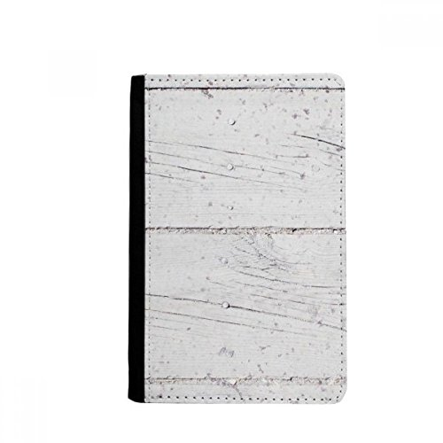 White Wood Floor Rough Wallpaper Texture Passpord Holder Travel Wallet Cover Case Card Purse Gifts by beatChong