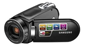 Samsung SMX-F34 Flash Memory Camcorder w/16GB Memory & 42x Intelli-Zoom (Black) (Discontinued by Manufacturer)
